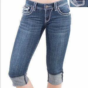 *PREMIUM* LA Idol Capri Jeans-BRAND NEW